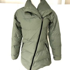 LUCY lightweight olive coat